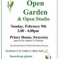 Snowdrop open garden