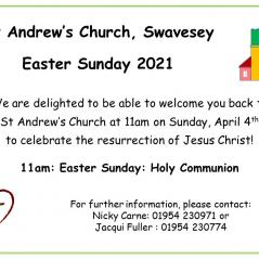 Easter Sunday at St Andrew's, Swavesey