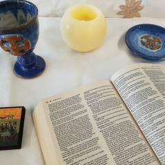 Bible and Communion Set