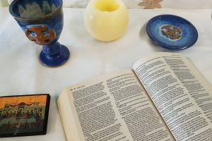 Bible and Communion Set