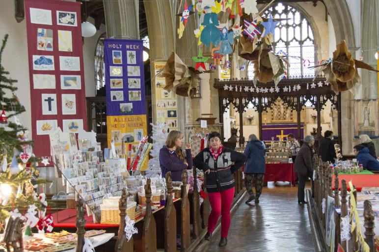 Craft Stalls at the Angel and Star Festival