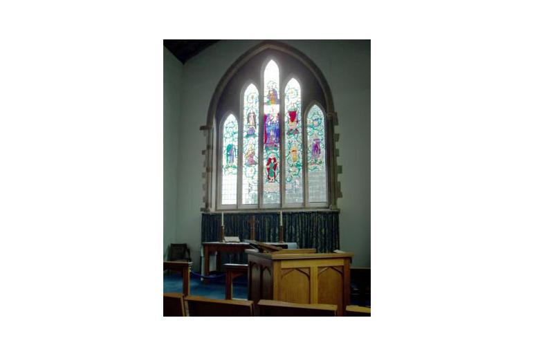 St Andrews Swavesey main window