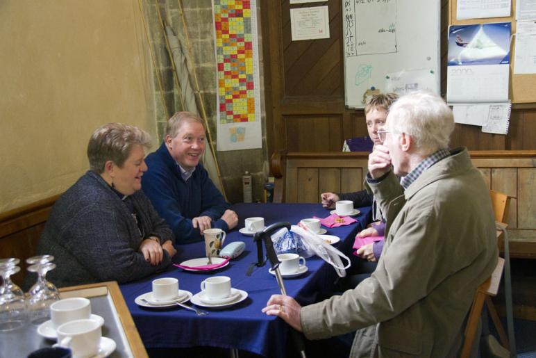 Tea and Chat at the Angel Festival 2016