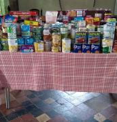 St Andrew's harvest festival gifts