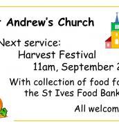 Harvest festival 2020