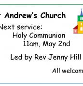 Service on 2nd May
